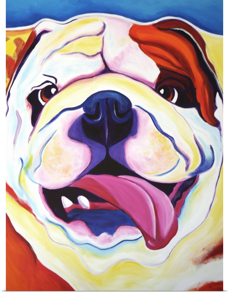 Poster Print Wall Art entitled Bully Grin