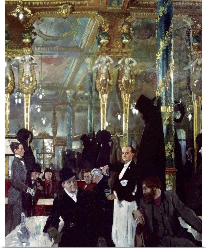 Poster Print Wall Art entitled Cafe Royal, London, 1912