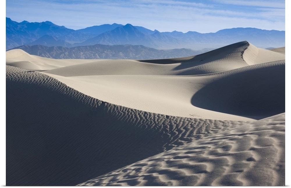Cartel Impresion Pared Arte Titulado California Parque Nacional Valle De La Muerte Mesquite Ebay