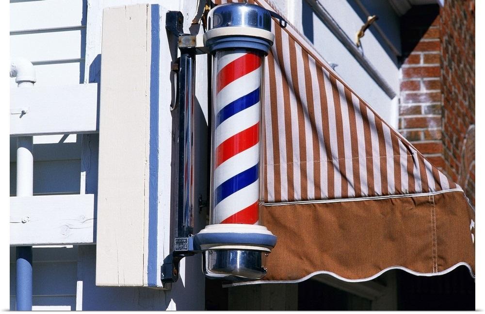 034-Barber-shop-pole-034-Poster-Print