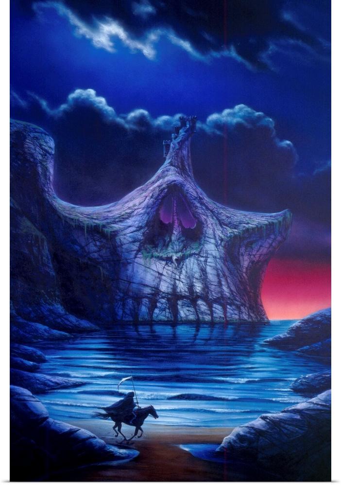 Poster Print Wall Art entitled Skull Point