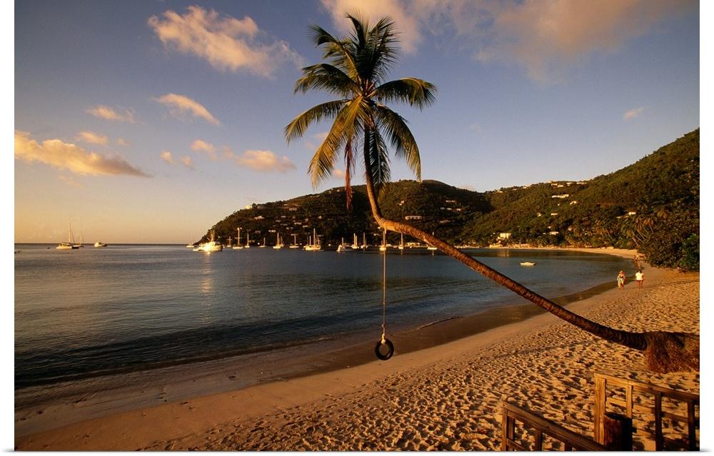 Poster Print Wall Art entitled Cane Garden Bay Tortola British Virgin Islands