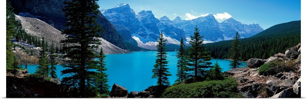 Details About Poster Print Moraine Lake Banff National Park Alberta Canada