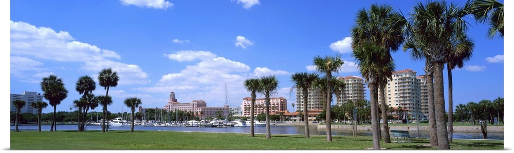 Poster Print Wall Art entitled St Petersburg FL