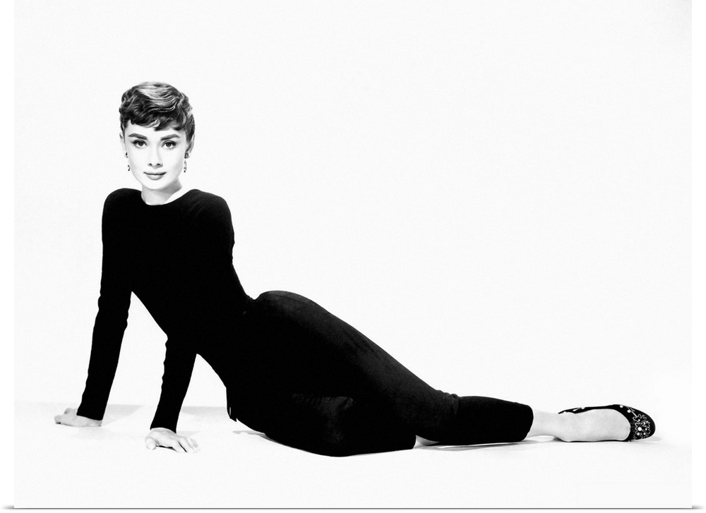 Poster Print Wall Art entitled Audrey Hepburn B