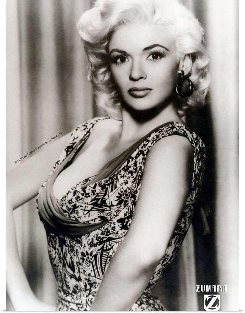 Poster Print Wall Art entitled Jayne Mansfield B