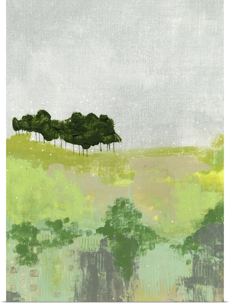 Poster Print Wall Art entitled Trees