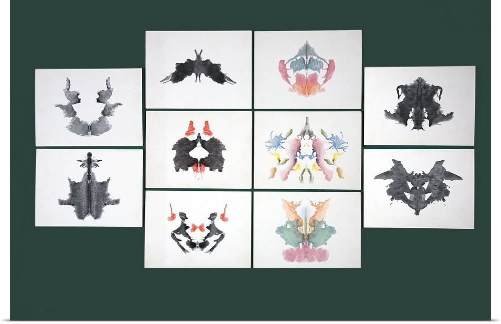 034-Rorschach-Inkblot-Test-034-Poster-Print