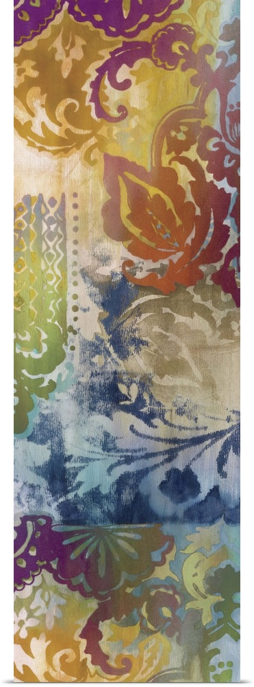 Poster Print Wall Art entitled Persian Nights Panel I