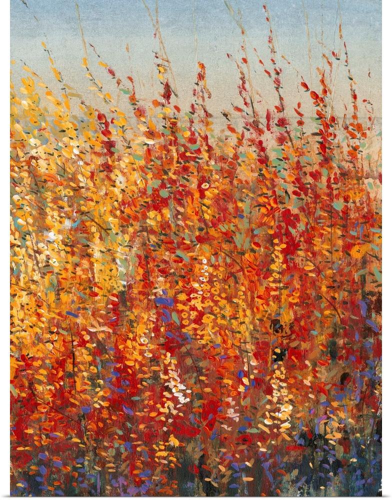 Poster Print Wall Art entitled High Desert Blossoms II