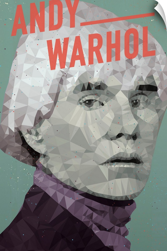 Wall Decal entitled Andy Warhol