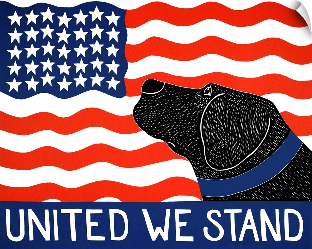 Wall Decal entitled United We Stand