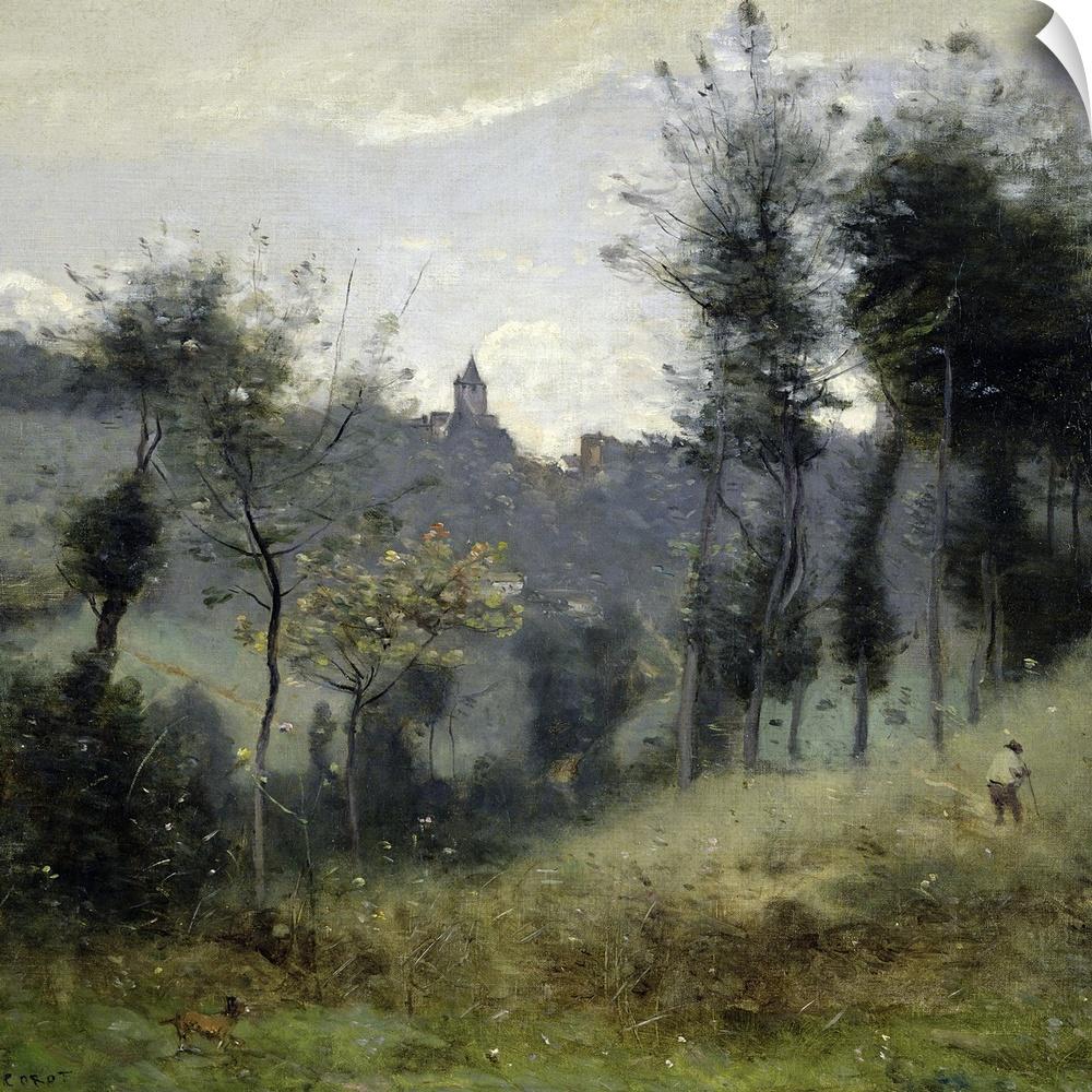 Wall Decal entitled Canteleu near Rouen