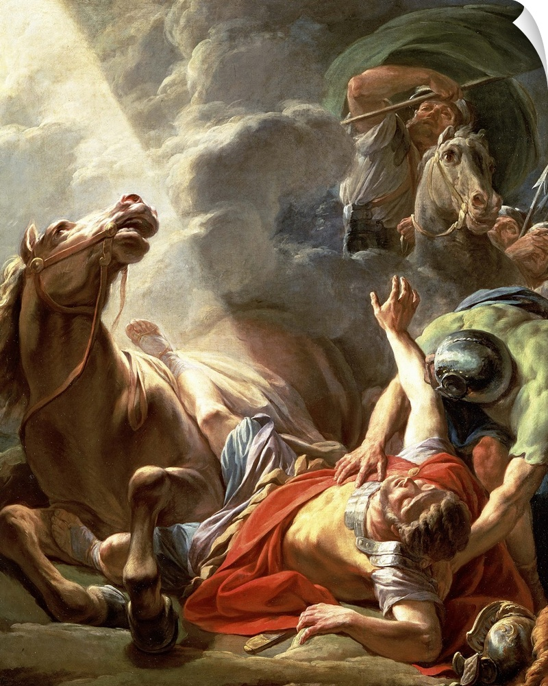 Wall Decal entitled The Conversion of St. Paul, 1767