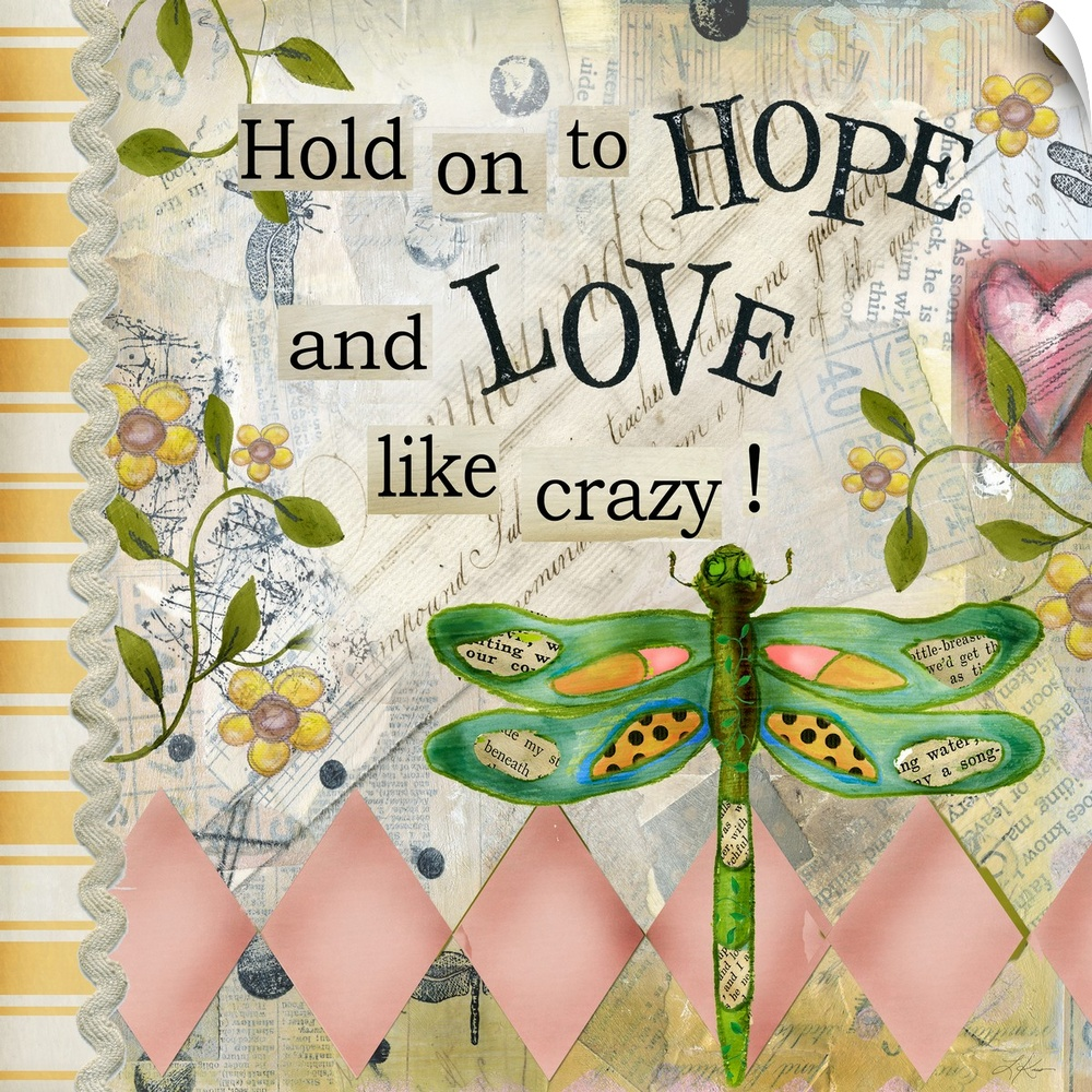 Wall Decal entitled Hold on to Hope
