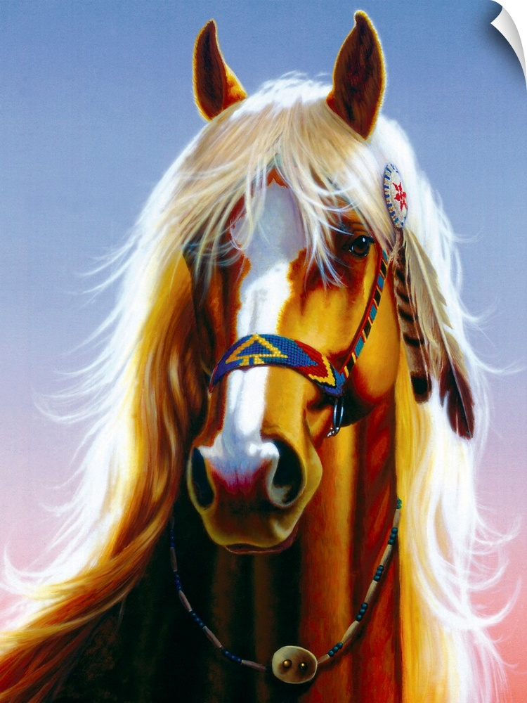 Wall Decal entitled Indian Horse