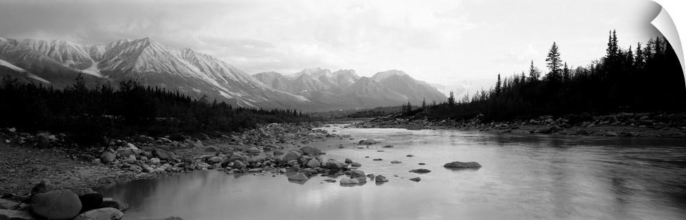 wand abziehbild entitled Alaska, Kennicott River