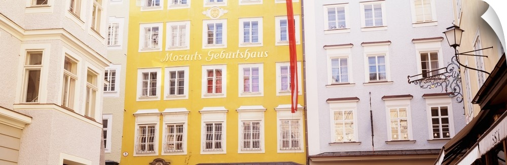 Wall Decal entitled Austria, Salzburg, Mozart's Birthplace, Low angle view of