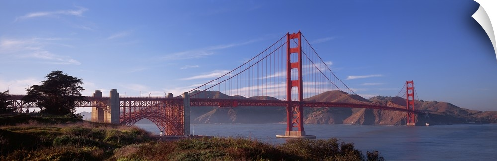 Wall Decal entitled oroen Gate Bridge San Francisco California