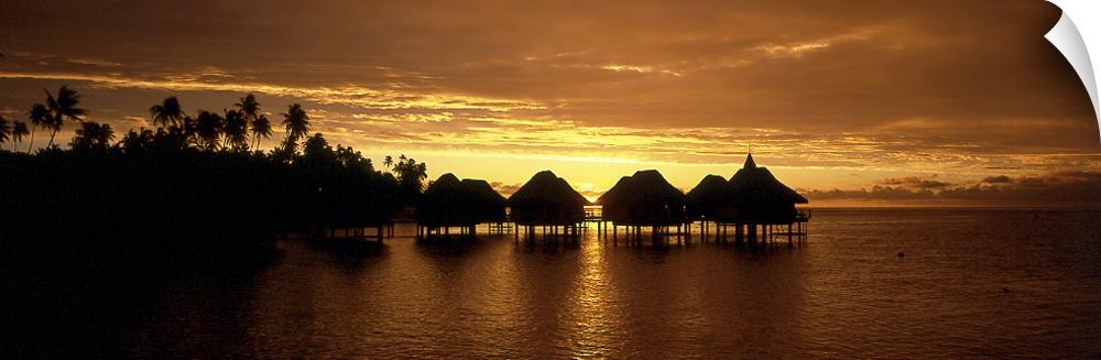 Wall Decal entitled Lagoon Resort Bora Bora French Polynesia