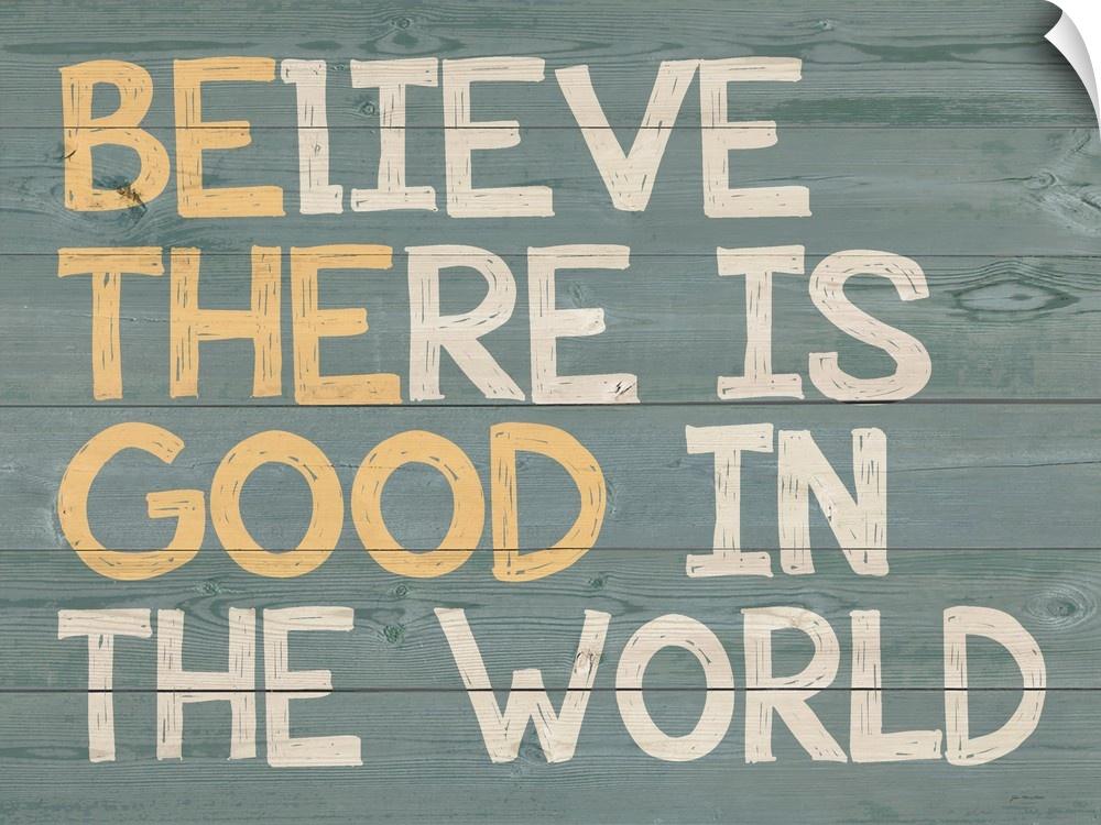 wand abziehbild entitled Be the Good