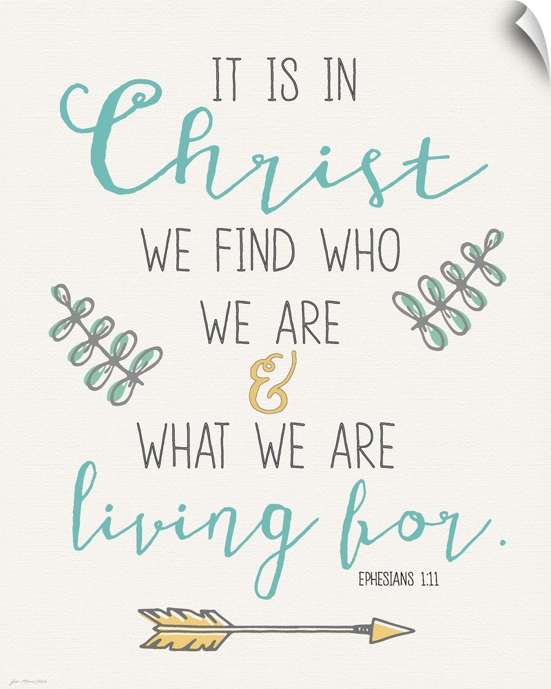 Wall Decal entitled Find Christ