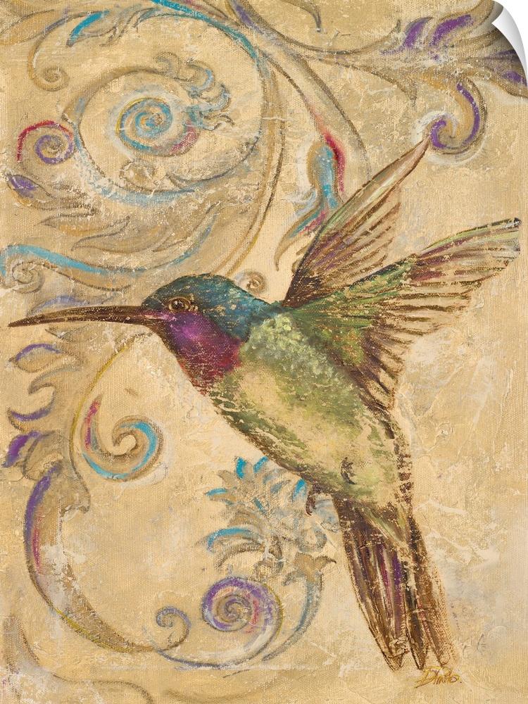 Wall Decal entitled Hummingbird II
