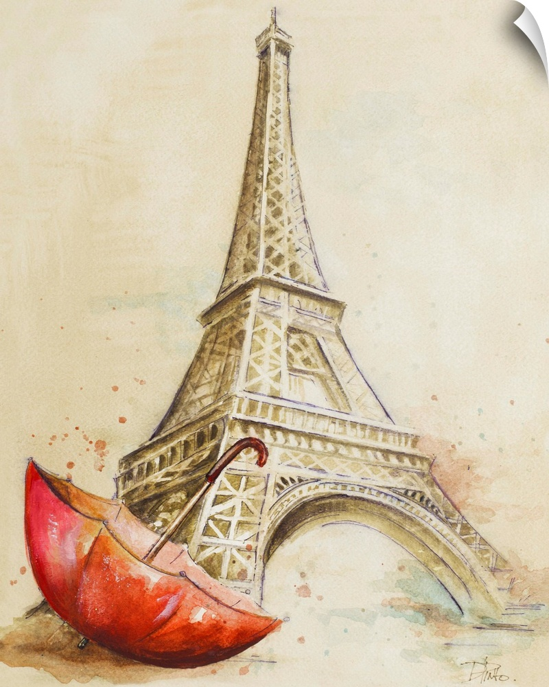 Wall Decal entitled Tour Eiffel