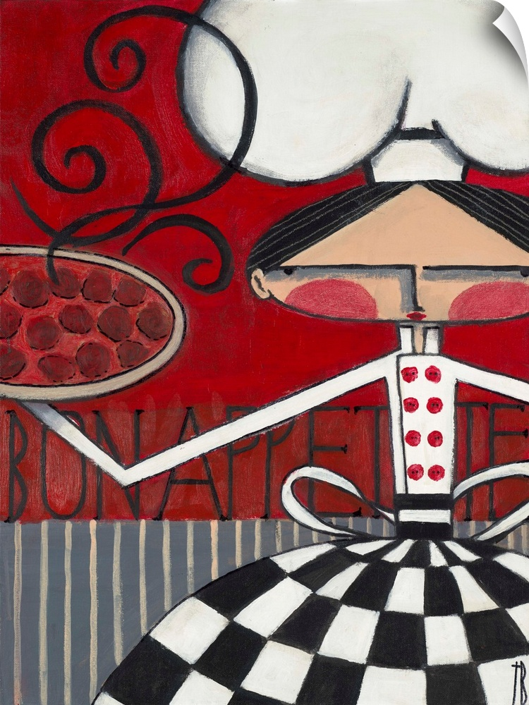 Wall Decal entitled Bon Appetite