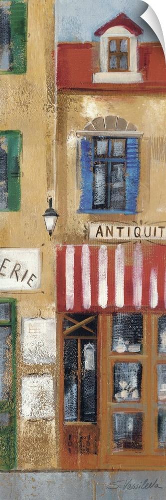 Wall Decal entitled Ruette de Ville I