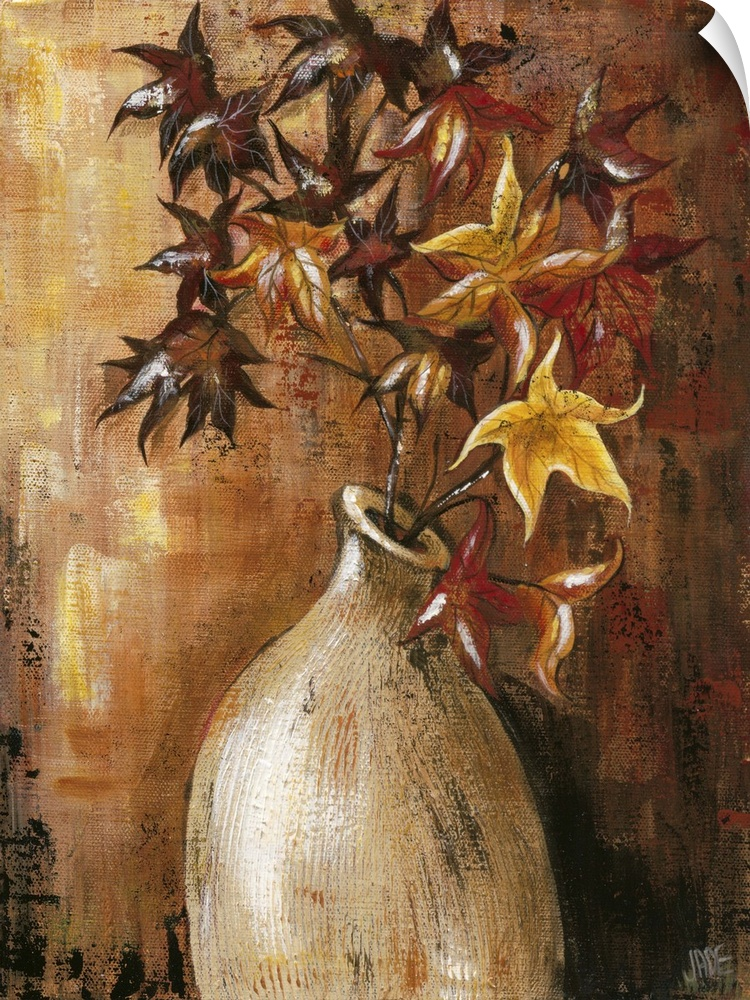 wand abziehbild entitled Branches in Vase II