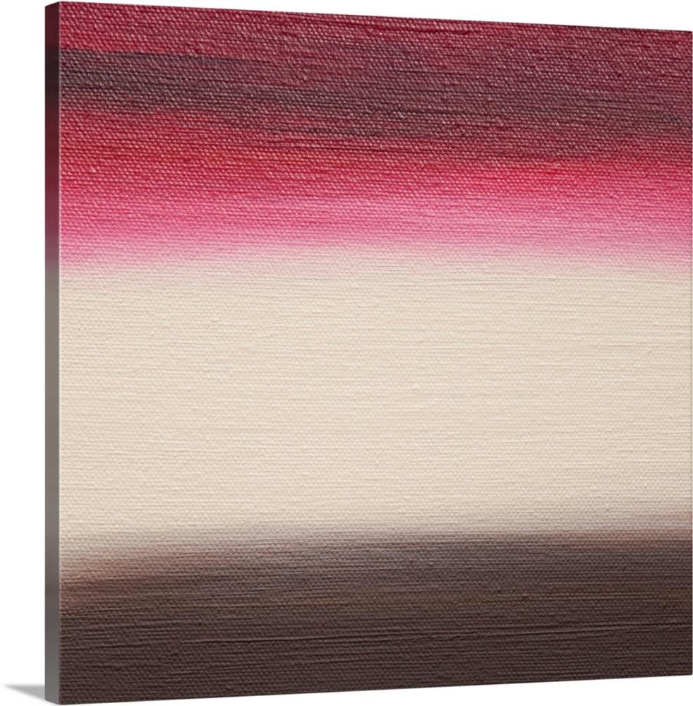 Solid-Faced Canvas drucken wand kunst entitled Ten Sunsets - Canvas IV