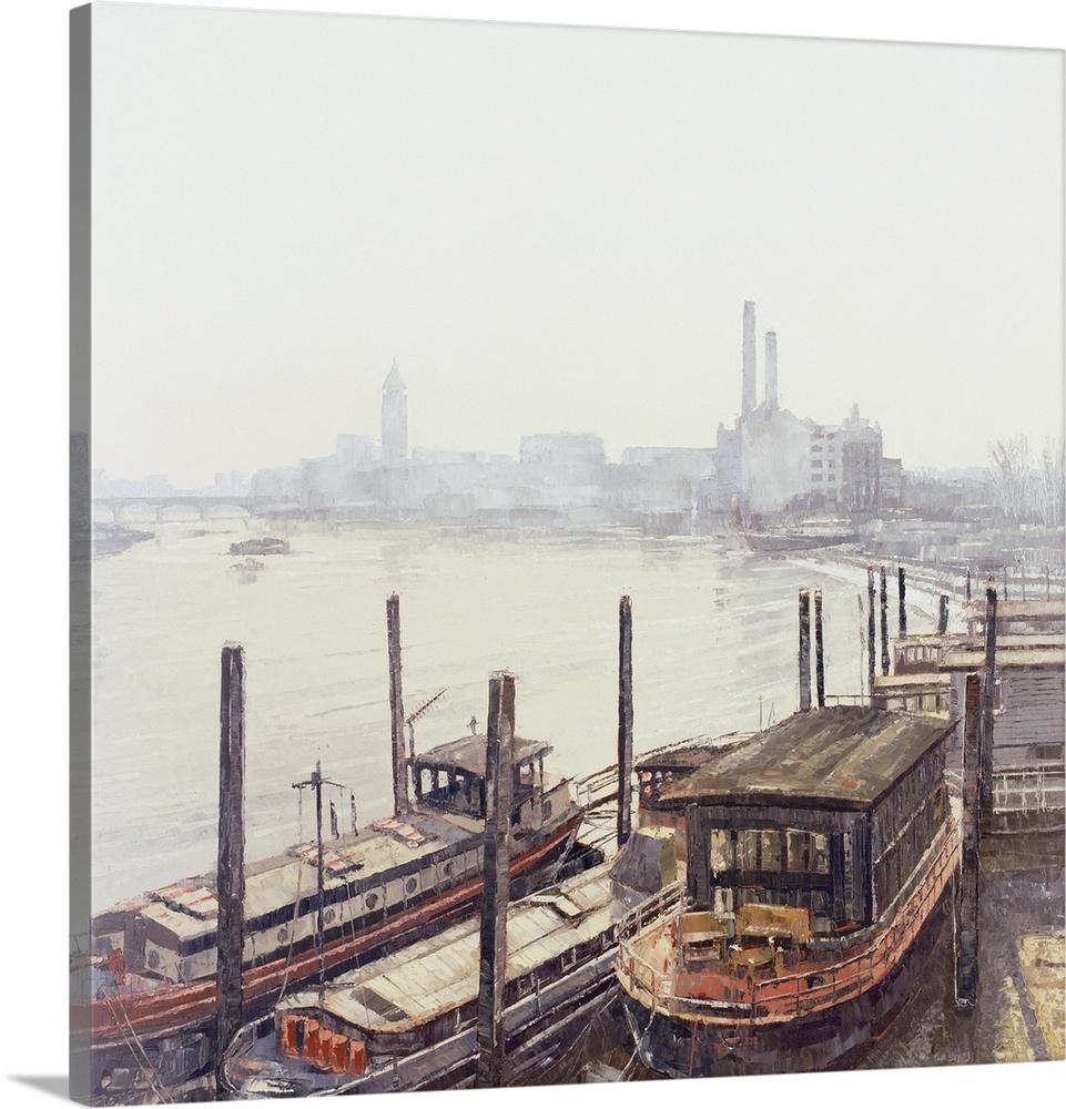 Canvas Kunst Drucken  Chelsea Harbour, 2004