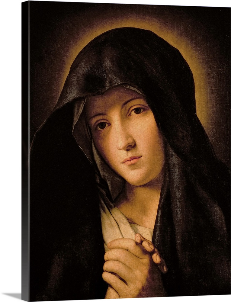 Solid-Faced Canvas Print Wall Art entitled Madonna