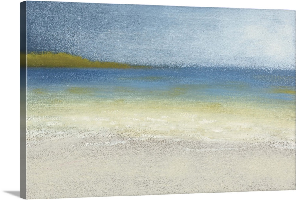 Solid-Faced Canvas drucken wand kunst entitled Sea Songs