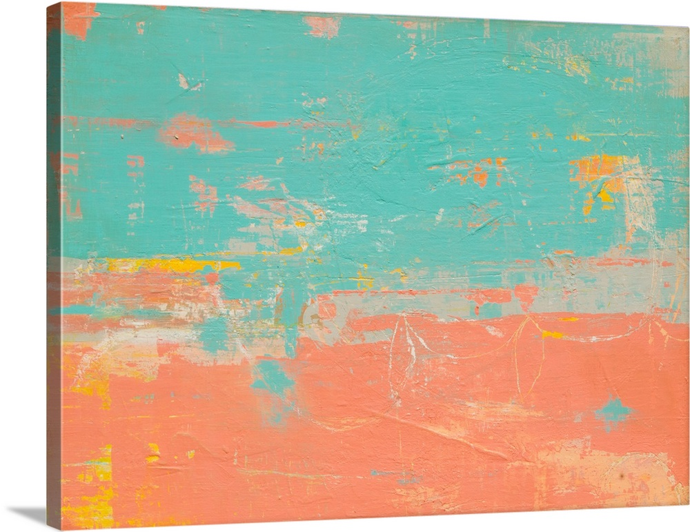 Solid-Faced Canvas drucken wand kunst entitled South Beach Drive