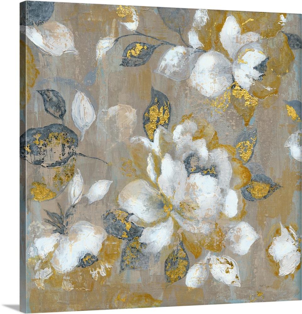 Canvas Kunst Drucken  Honey Garden