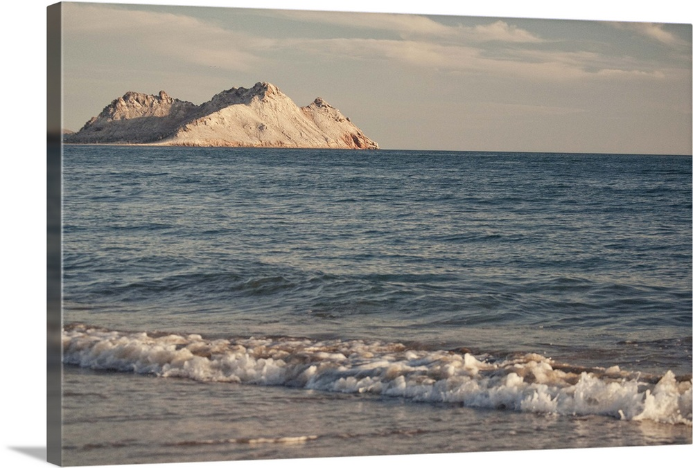 Large Solid-Faced Canvas Print Wall Art Print 30 x 20 entitled Bahia de Kino, a time to enjoy Solid-Faced Canvas Print entitled Bahia de Kino, a time to enjoy.  The beach at Bahia de Kino, Sonora, Mexico.  Multiple sizes available.  Primary colors within this image include Brown, Dark Gray, Light Gray.  Made in the USA.  All products come with a 365 day workmanship guarantee.  Inks used are latex-based and designed to last.  Featuring a proprietary design, our canvases produce the tightest corners without any bubbles, ripples, or bumps and will not warp or sag over time.  Archival inks prevent fading and preserve as much fine detail as possible with no over-saturation or color shifting.