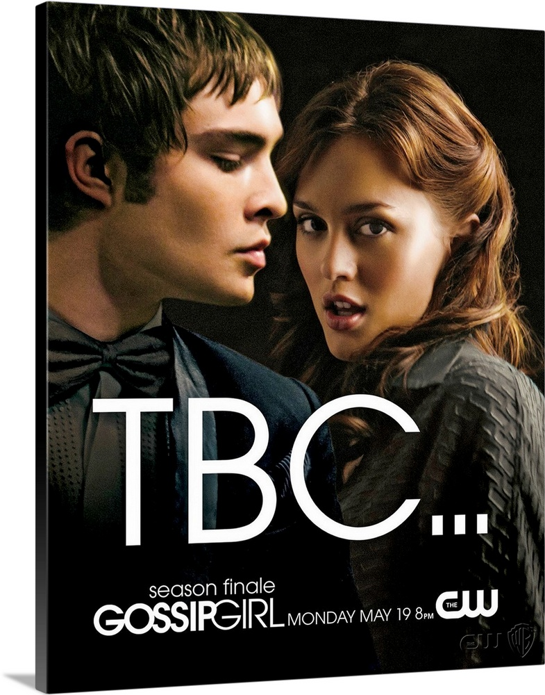 Large Gallery-Wrapped Canvas Wall Art Print 16 x 20 entitled Gossip Girl (TV) (2007) Gallery-Wrapped Canvas entitled Gossip Girl TV 2007.  Welcome to New Yorks Upper East side where the wealthy and connected mingle at benefits and try to deal with their always dramatic love lives not to mention picking colleges. Blair Waldorf is the so-called toast of adolescence in her world she and her friends Kati Farkas and Isabel Coates go to a prep school and fancy parties with their rich parents. Blair is envied by her adversaries because she is thought to have the perfect life not just because of her gorgeous boyfriend Nate Archibald but because shes also planning on getting into her dream collegeYale. With everyone worried about collegeor procrastinating on worrying which everyone seems to be doing and senior year dragging along her seemingly perfect life is interrupted by her ex-best friend the beautiful Serena van der Woodsen coming back into town after getting kicked out of boarding school. Serena comes back into her life and into the eyes of Blairs boy friend. When everything Blair knows starts to fall apart everyone will realize that her life is far from perfect. Will life in the the Upper East Side redeem itself of what its really supposed to be Or will the false facade reveal that the rich have the same problems as the not so rich Jenny and Dan Humphrey if not more. And just maybe Jenny and Dan are all the more happy with their simple not so expectant lives.  Multiple sizes available.  Primary colors within this image include Black White Dark Forest Green.  Made in the USA.  Satisfaction guaranteed.  Archival-quality UV-resistant inks.  Canvas frames are built with farmed or reclaimed domestic pine or poplar wood.  Canvas is designed to prevent fading.