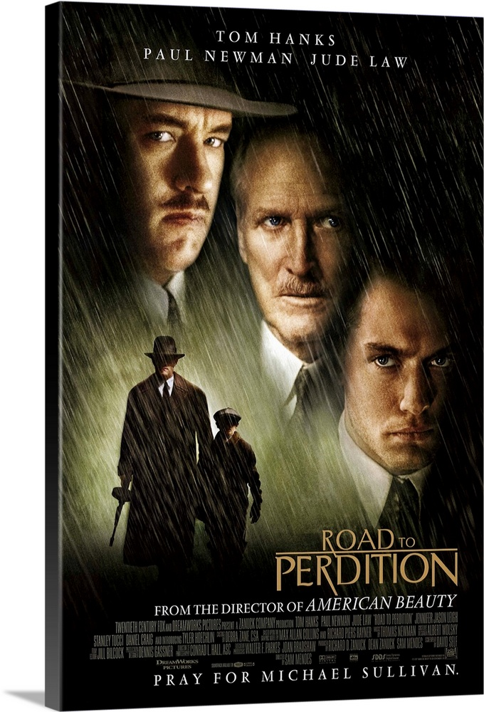 Canvas Kunst Drucken  Road to Perdition (2002)