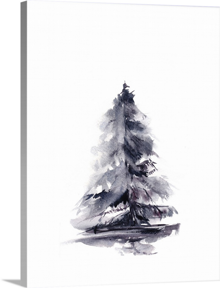 Solid-Faced Canvas Print Wall Art entitled Pine
