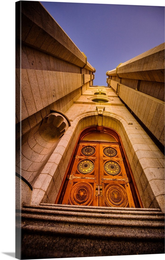 Quot Salt Lake Temple Door At Twilight Salt Lake City Utah