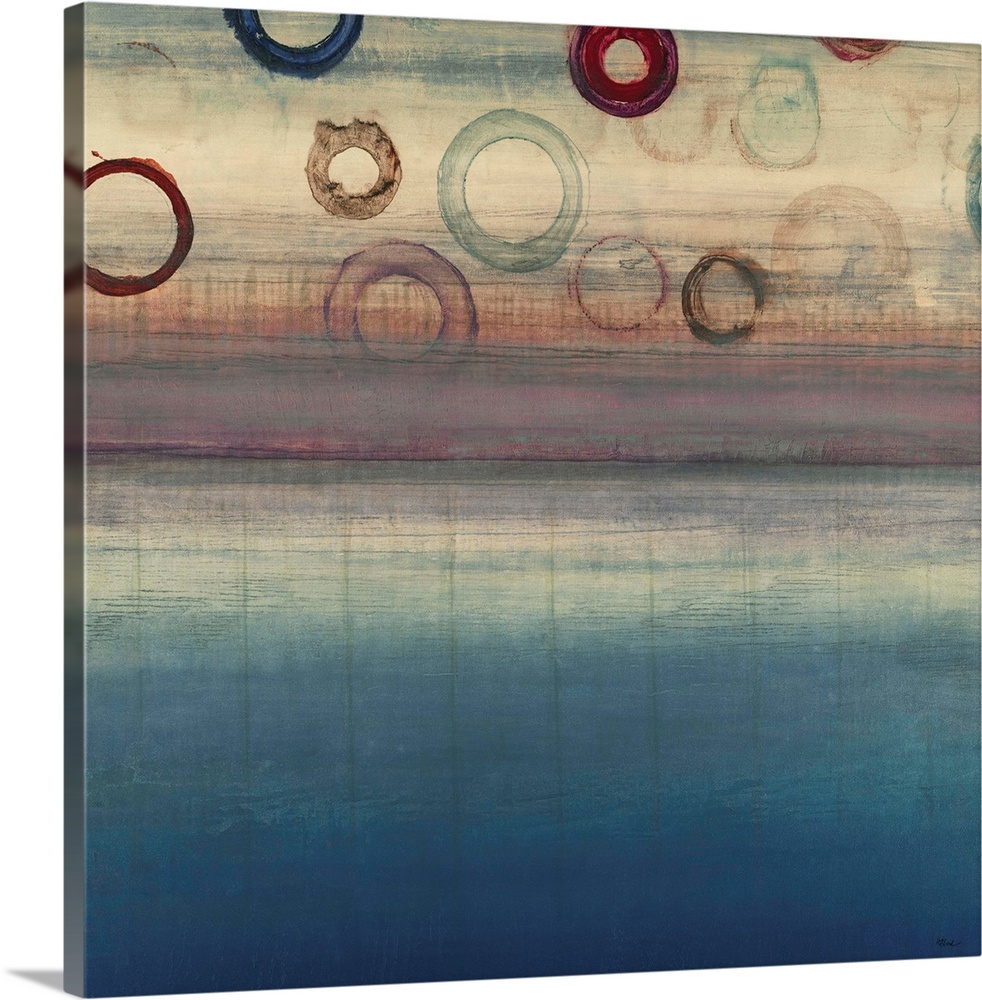 Solid-Faced Canvas drucken wand kunst entitled Resting in Motion
