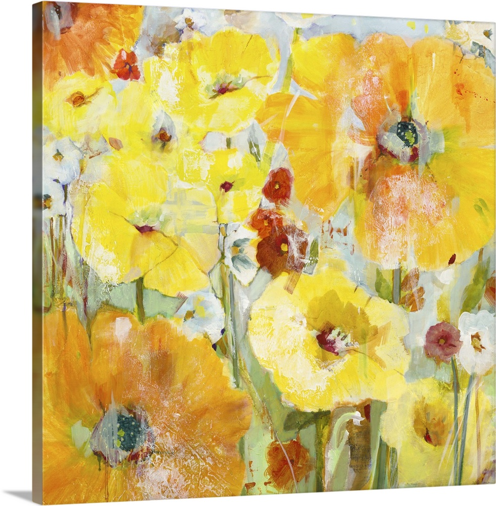 Solid-Faced Canvas drucken wand kunst entitled Spring Pkunstners