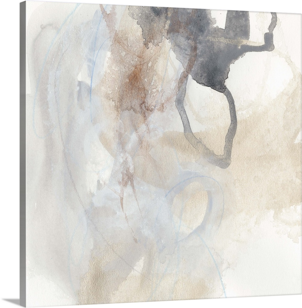 Solid-Faced Canvas drucken wand kunst entitled Supposition III